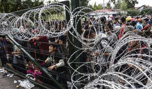 Solidarity Rally Refugees – We haven't forgotten OpenBorders RefugeesWelcome