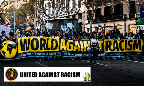 Word United Against Racism