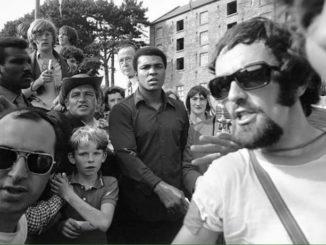 Muhammad Ali in Palmerstown In Dublin In 1972