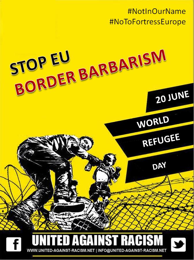 Stop EU Border Barbarism